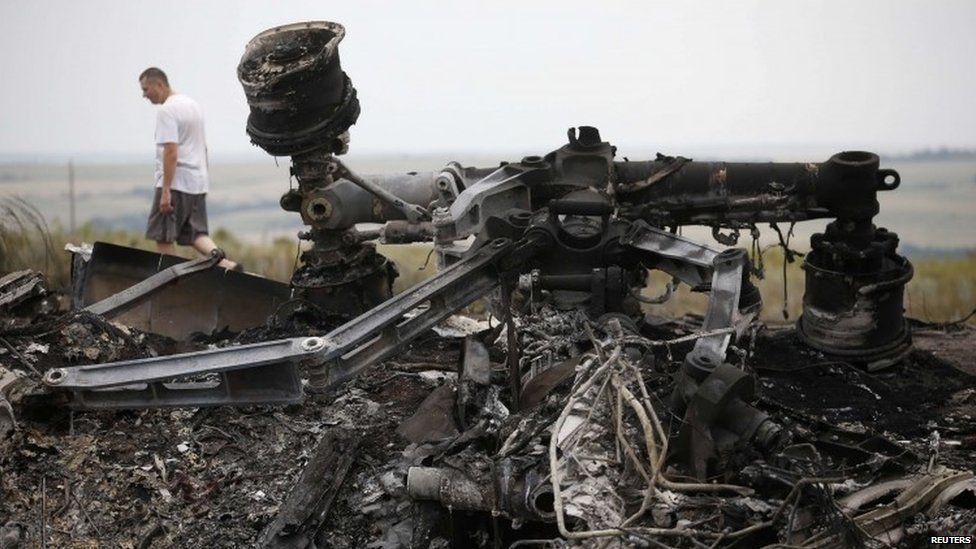 Aftermath of MH17 disaster