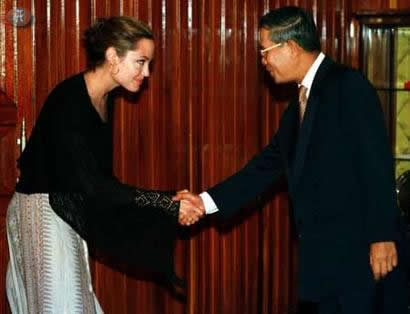 Angelina is a citizen of three countries. She's American by birth, awarded Cambodian citizenship for her conservation works and also an European citizenship for highlighting the Bosnian war truthfully.