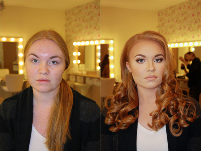 PHOTOS] How To Turn A Guy Into A Female Celeb Using Only Makeup