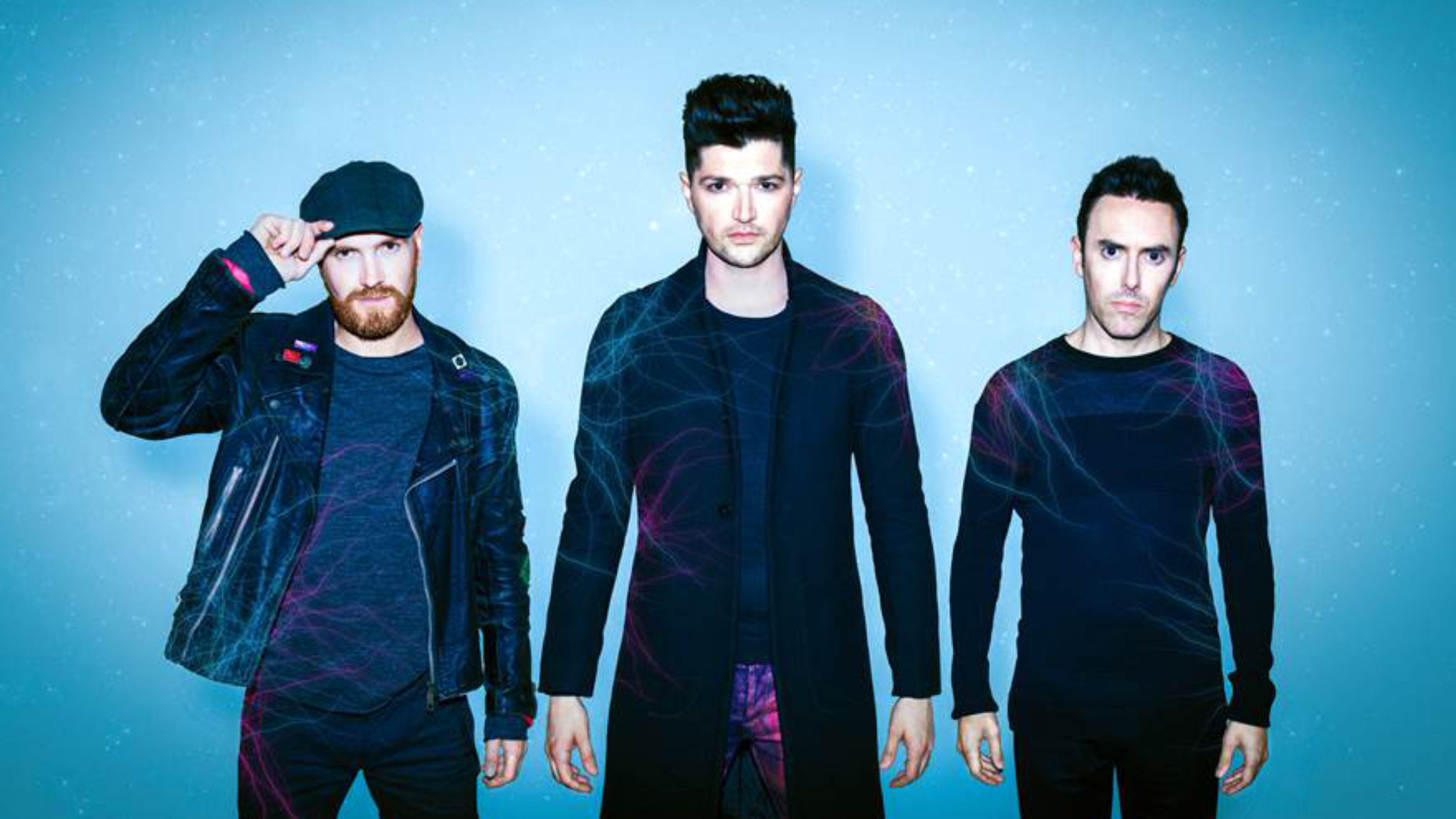 The Script (from left to right): Mark Sheehan, Danny O'Donoghue, Glen Power