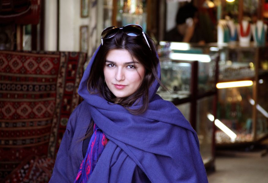 Iranian-British Ghoncheh Ghavami was detained while trying to attend a men's volleyball game