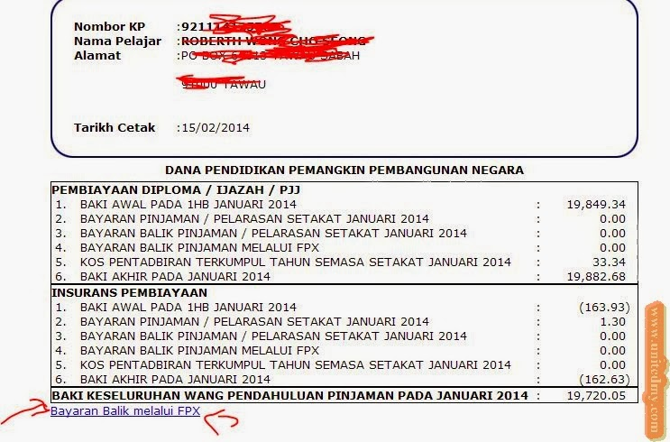 Share how to pay your outstanding ptptn loans in 7 easy steps image via unitedmy platinumwayz