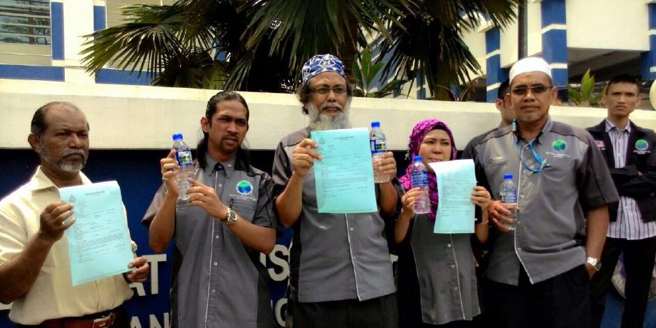PPIM membuat laporan tentang penggunaan gambar Tuhan Hindu bersama logo Halal pada balutan plastik botol air mineral Cactus.