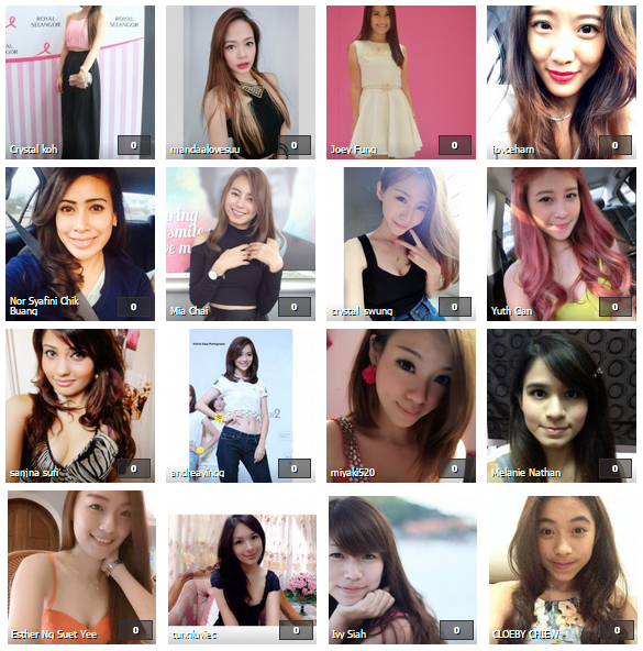 Some of the 216 shortlisted contestants for the 'I Love Myself Beauty Search 2014'.