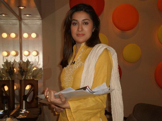 TV host Shaista Wahidi