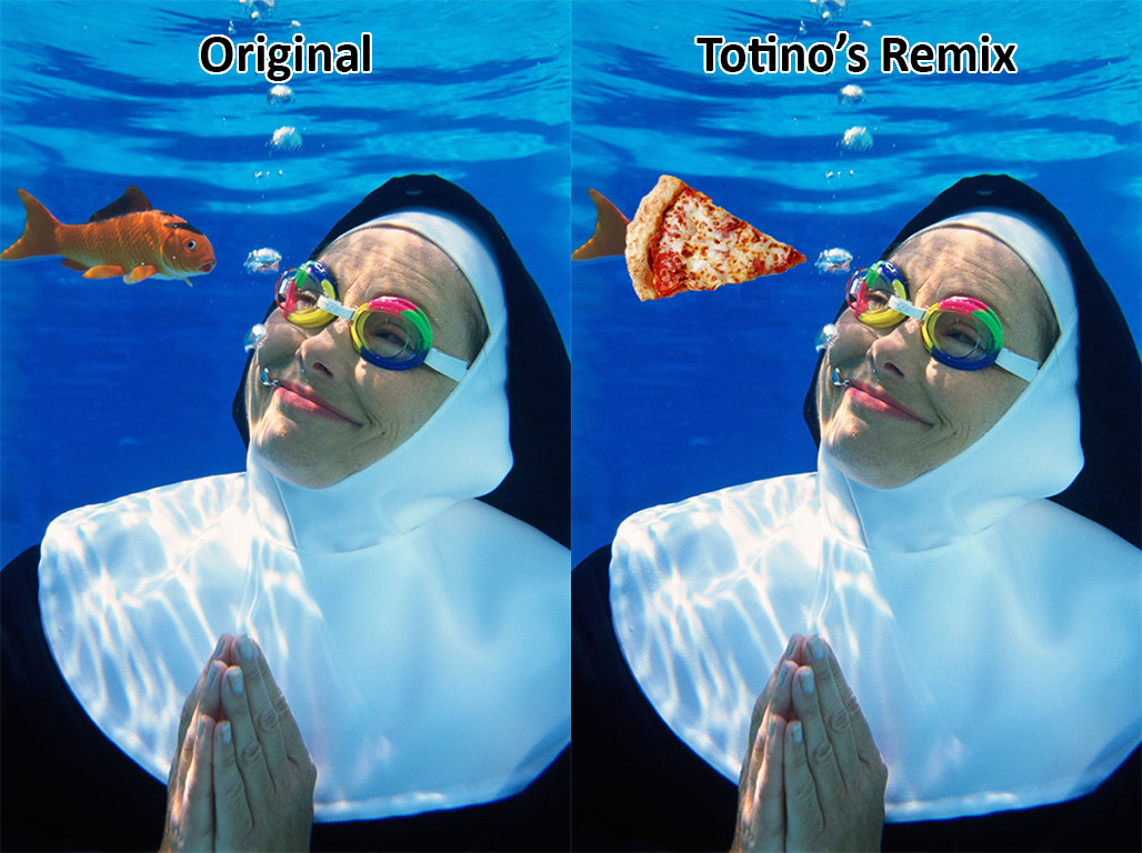 Image from Dennis O'Clair / Getty Images & Totino's
