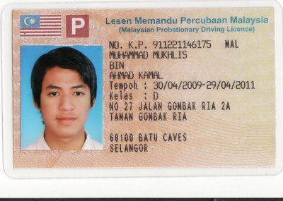 driving license in malaysia In order to apply for international driving permit (idp), you need: i) valid driving license for class b2 or d.