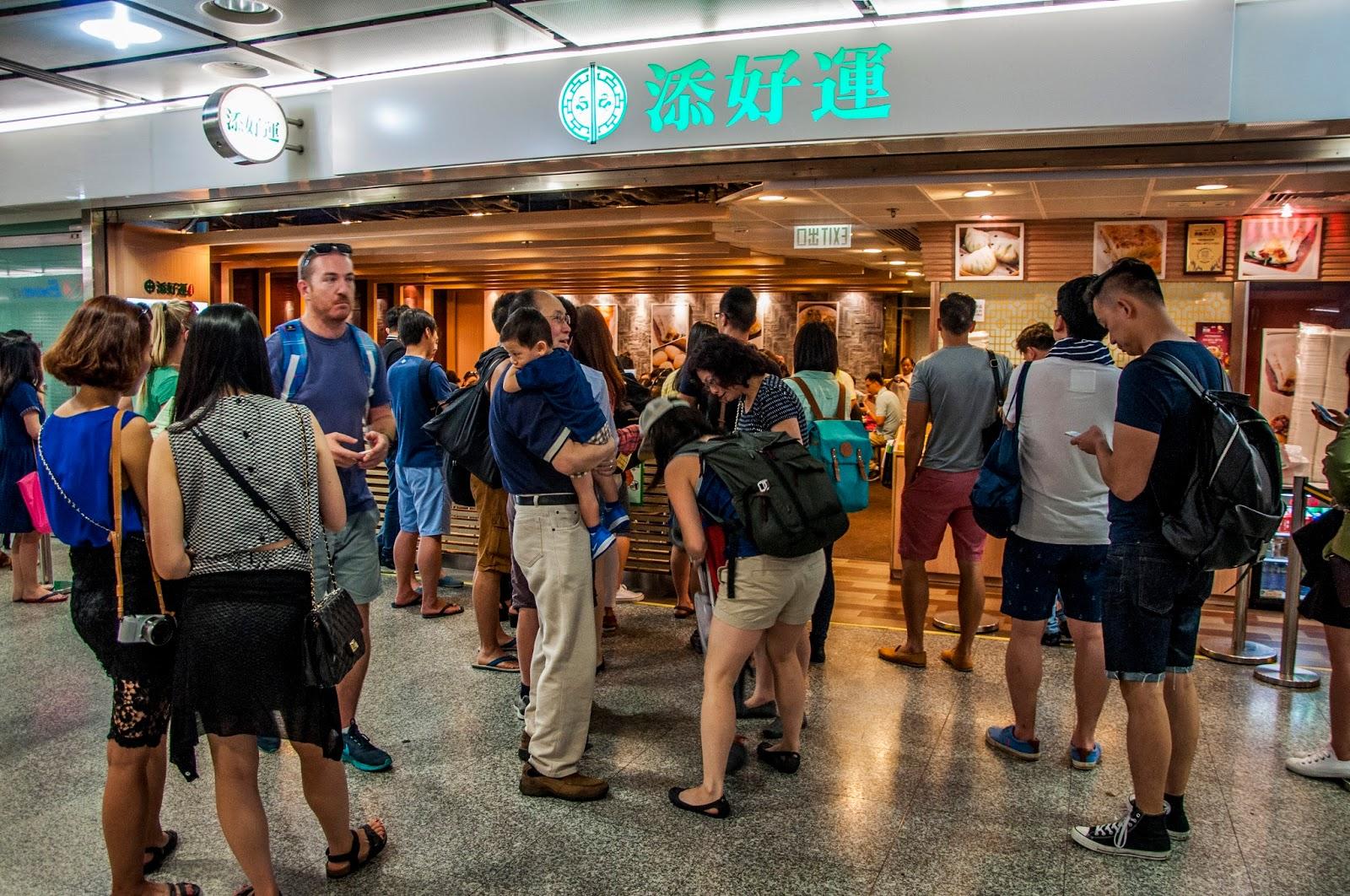 Tim Ho Wan in IFC Mall, Hong Kong