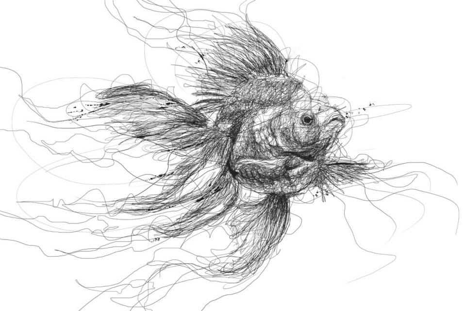 Scribble Drawing Uk : Photos you might ve seen these drawings before but did