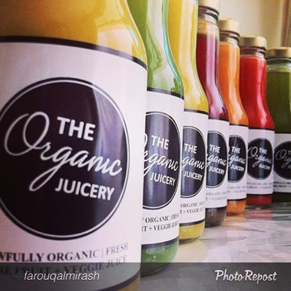 Image from Facebook: The Organic Juicery