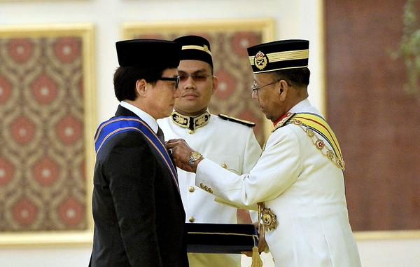 Image result for Datuk Jackie Chan