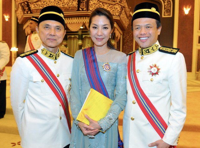 Datuk Michelle Yeoh, known for her role as a Bond girl.