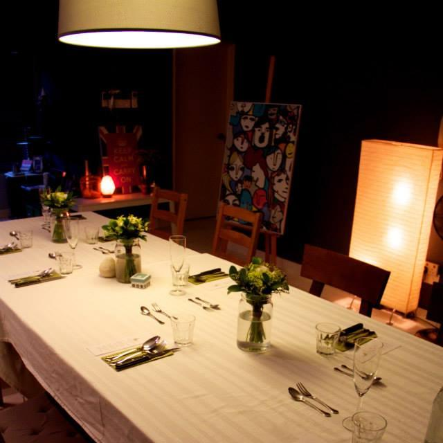 Image from Facebook: Transparent Apron Underground Supper Club