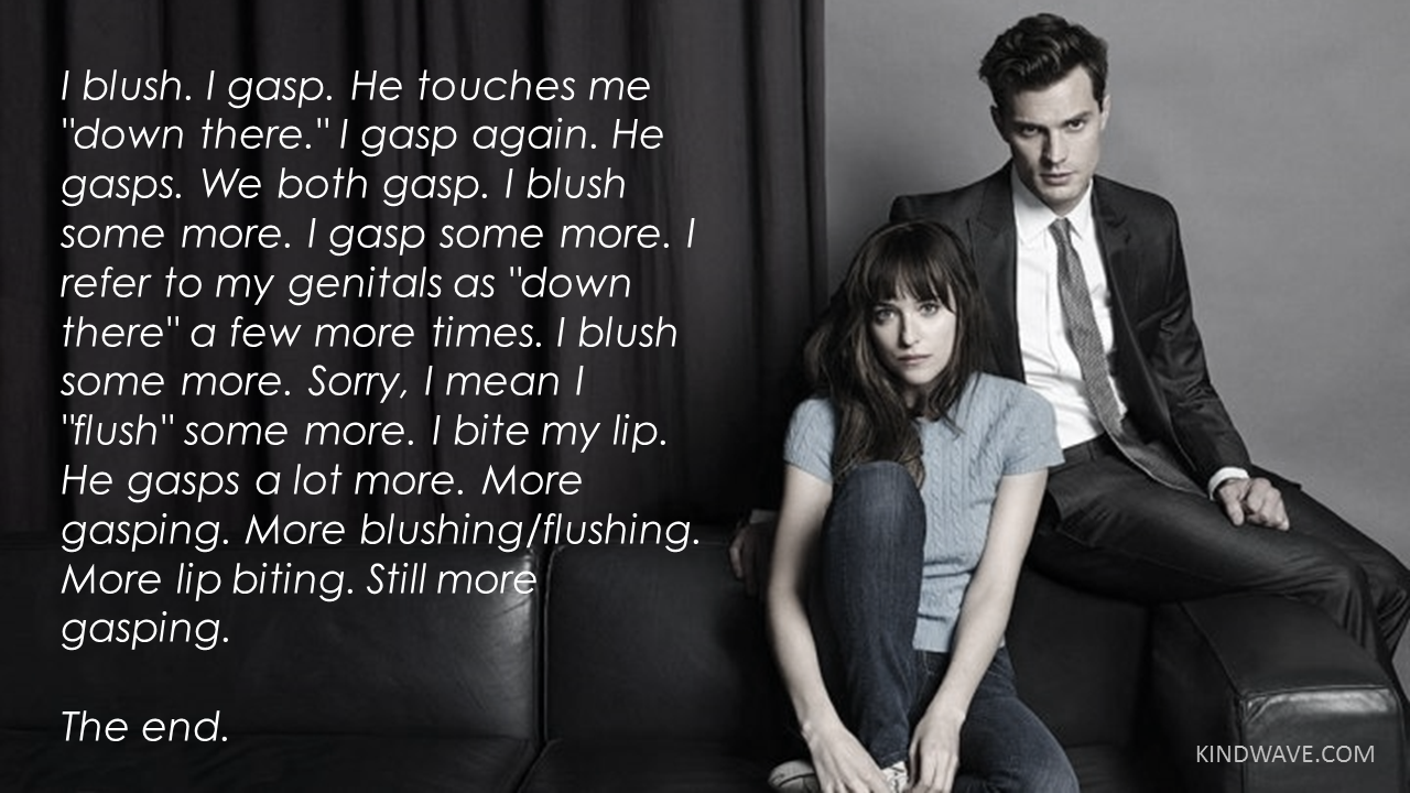 grey in fifty shades
