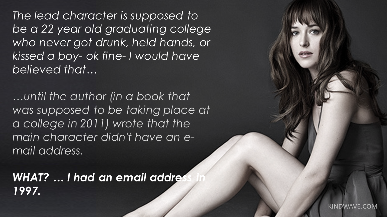 Everything Wrong With Fifty Shades Of Grey In 15 Hilariously