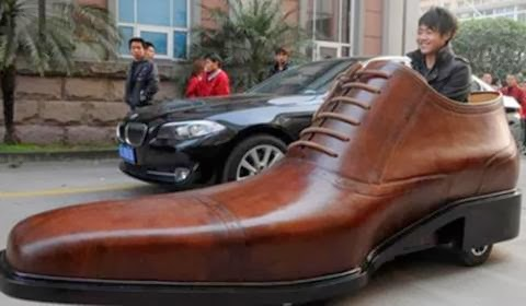Where else can you find a car that comes in size 12?