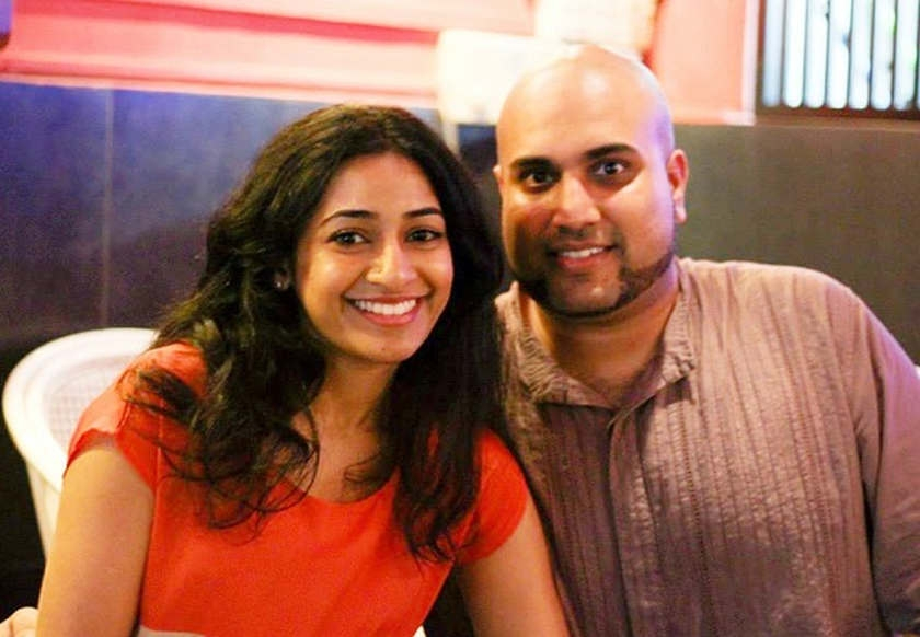 Married to their startup, and to each other: Tanuja Rajah (left) and Jonathan Victor