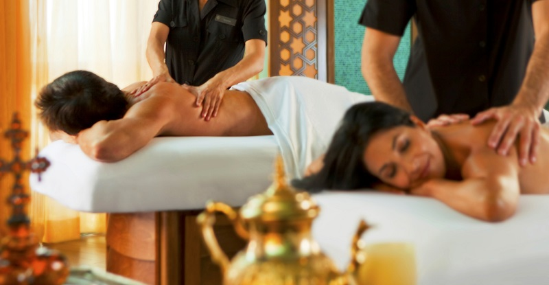 Couples' massage is among the dating packages offered by Lovesprk
