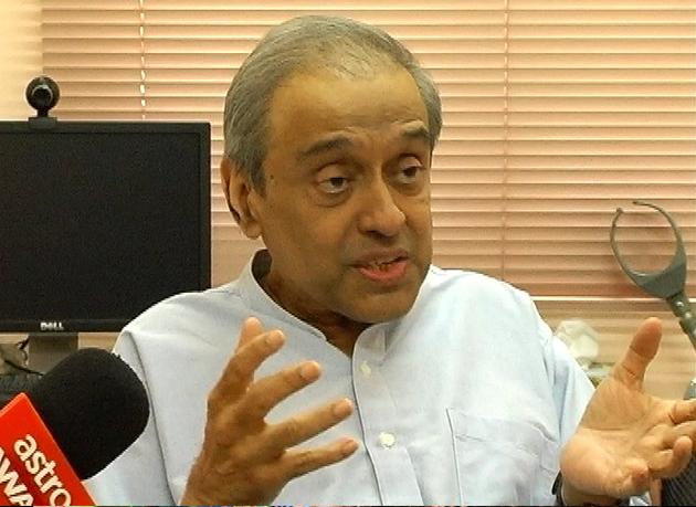 Penganalisis Politik, Dr Chandra Muzaffar.
