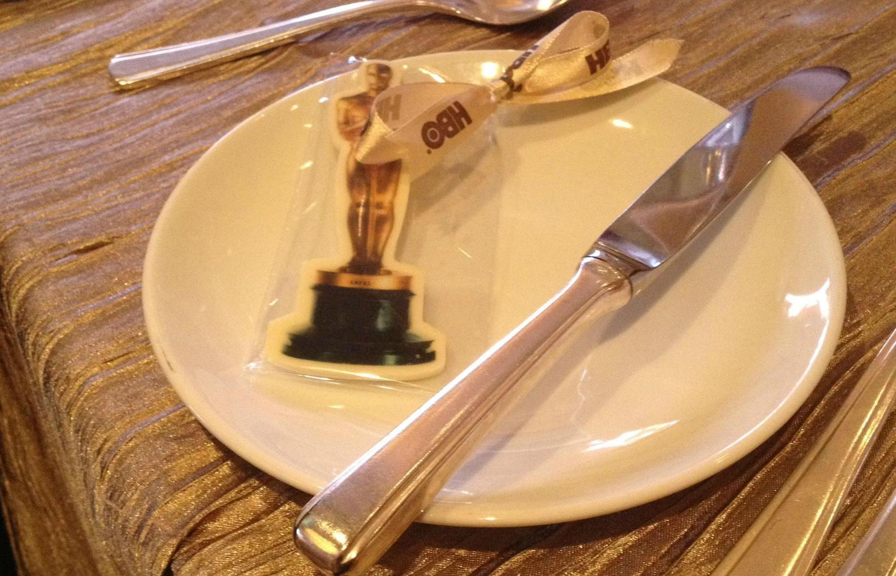 Who needs the real Oscar when you can have an edible chocolate one!
