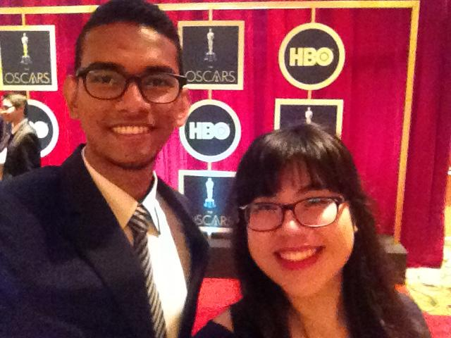 SAYS writers, Farouq and Lee Yee at the red carpet!