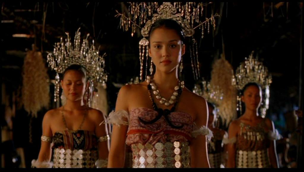Jessica Alba as Selima, a young Iban woman in 'The Sleeping Dictionary'.