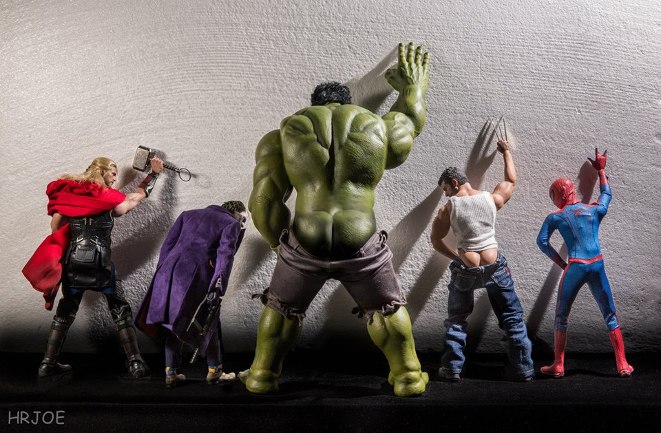 Figuring out the extent of The Hulk's growth is serious business.