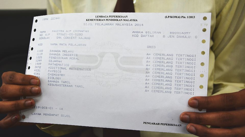 How The Daughter Of An Alam Flora Worker Topped Everyone In School With 11a S For Spm