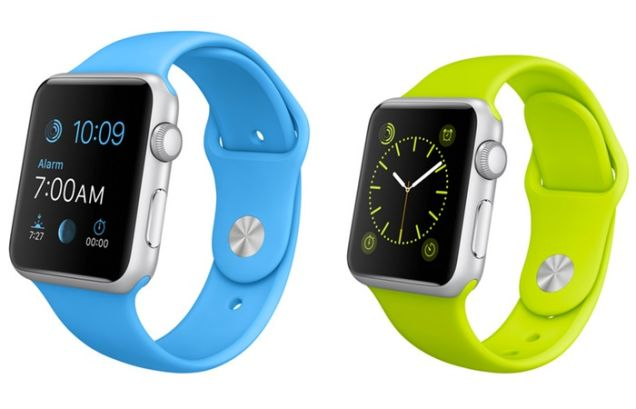 The Apple Watch Sport Edition