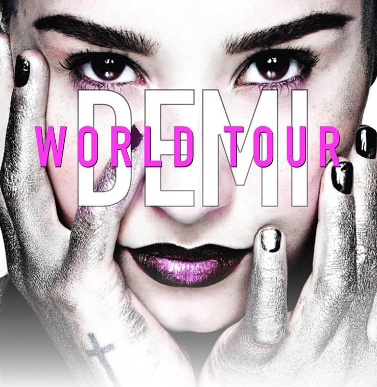 Image from Demi World Tour In Malaysia 2015 Facebook event page