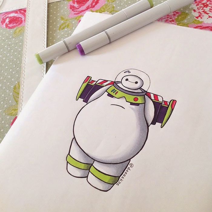 Photos This Is What Itd Be Like If Baymax Starred In Every