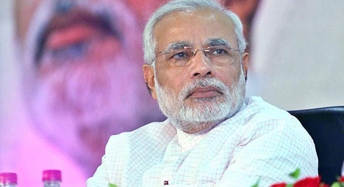 Prime Minister Narendra Modi today condoled the death of Singapore's founding father Lee Kuan Yew, New Delhi, 23 March.