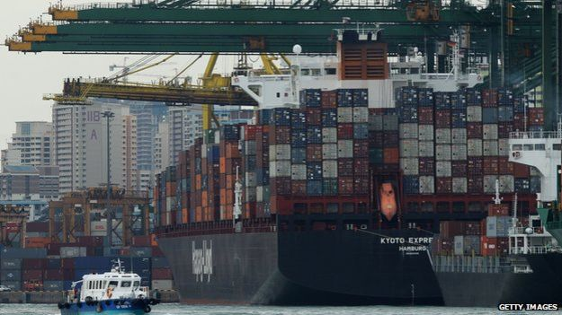 Singapore currently has the world's second busiest port after China's Shanghai.