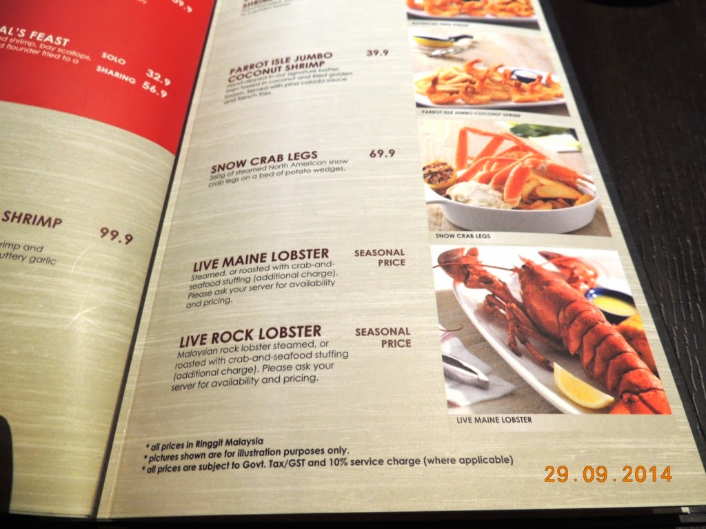Prices Of Red Lobster Drinks