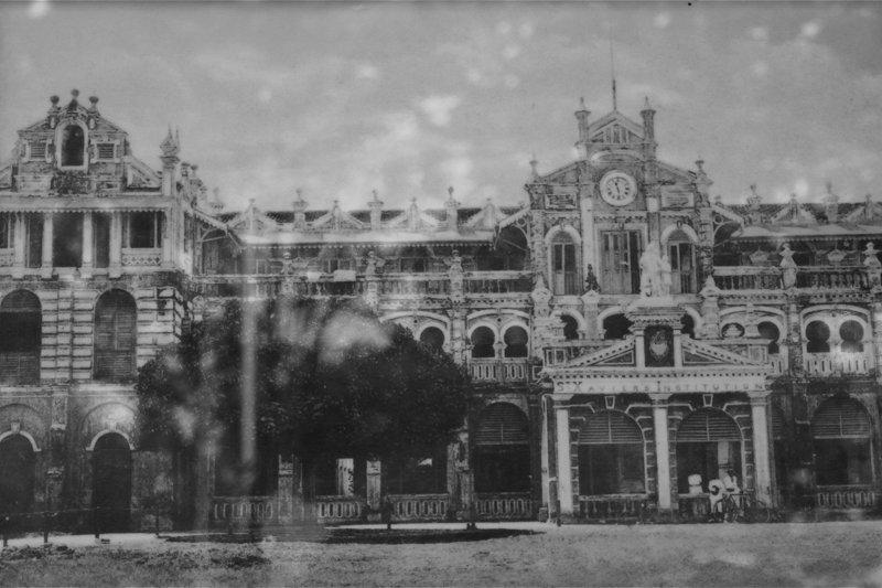 St Xavier's Institution in 1857.