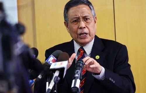 Election Commission (EC) chairman Tan Sri Abdul Aziz Mohd Yusof informs reporters on the Permatang Pauh by-election. (Pic for illustration purposes)