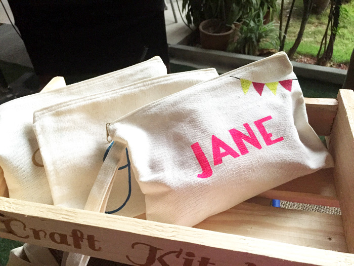 Something special for your bridesmaids by Craft Kitchen