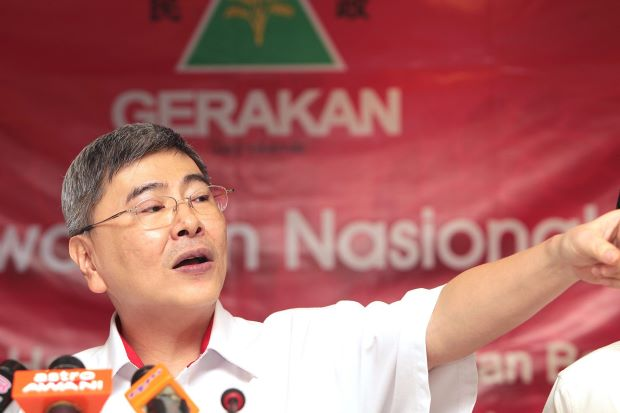 """ Nothing is impossible in politics."" says Gerakan president Mah Siew Keong"