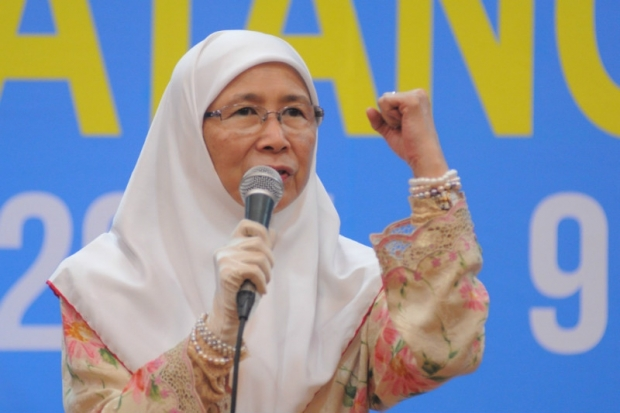 PKR president Datuk Seri Wan Azizah Wan Ismail was named as the party's candidate for the Permatang Pauh by-election today.