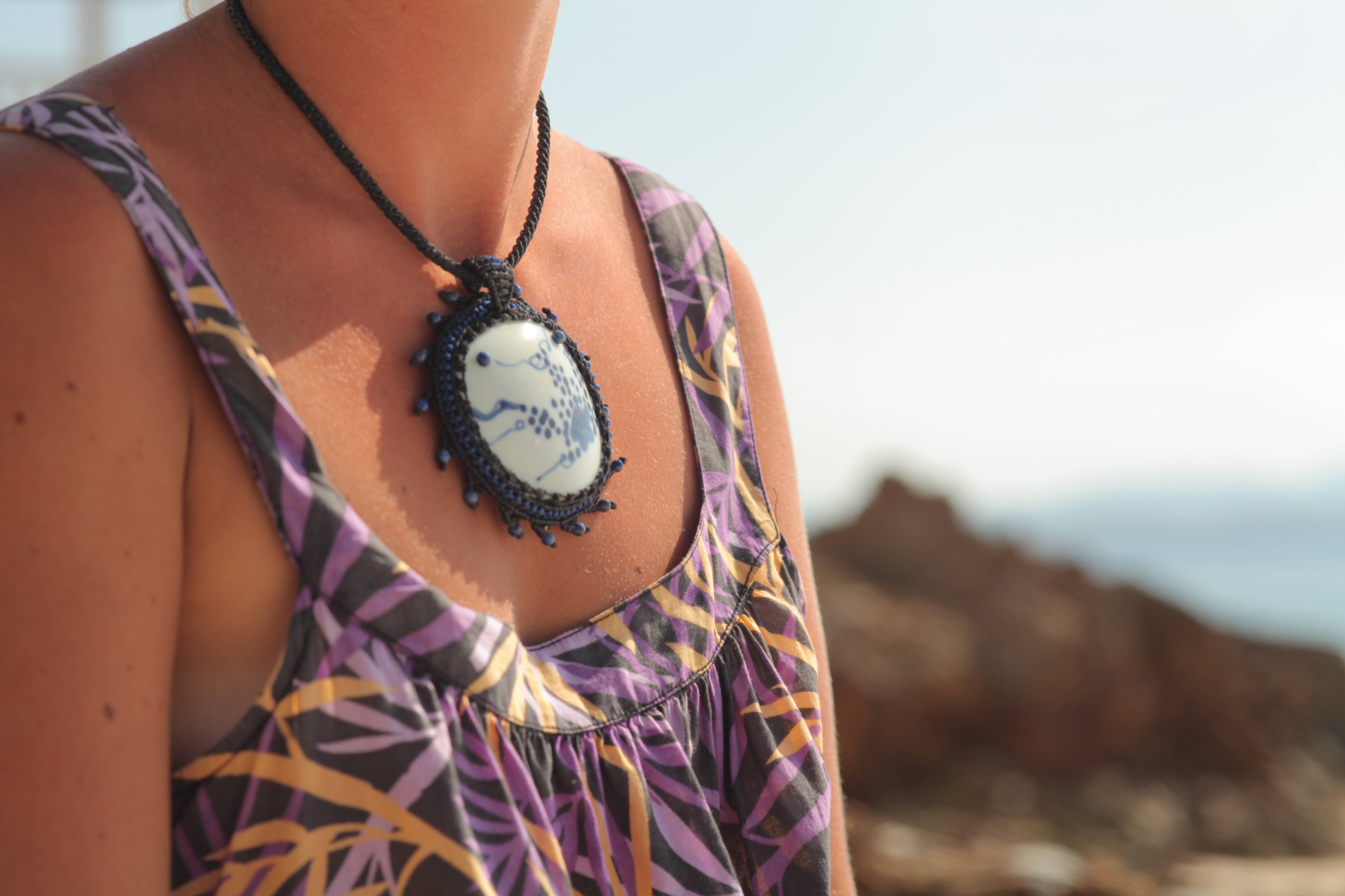 Tali Creations featuring a shipwreck pendant from MyKraak.