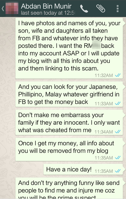Dating scams in malaysia