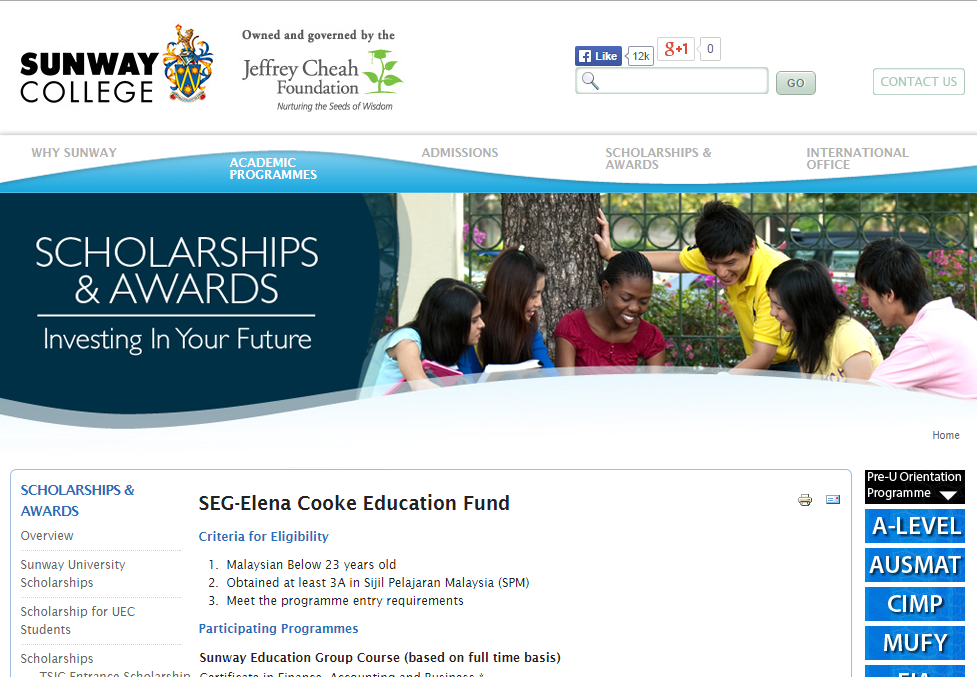 Image from Sunway College