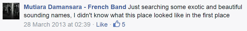 Image from Mutiara Damansara - French Band's Facebook