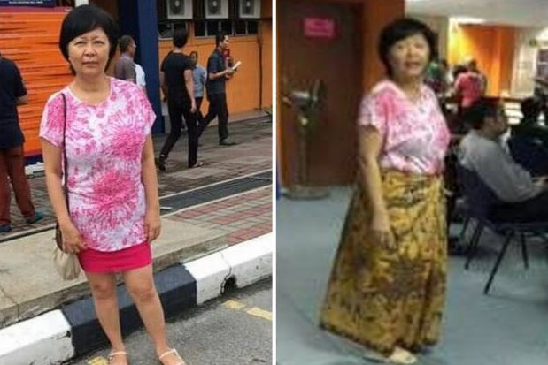 Suzanne G.L. Tan claims she was made to cover up when visiting the Road Transport Department branch in Wangsa Maju