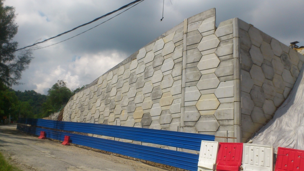The Nehemiah walls are more durable and faster to build compared to rigid concrete blocks.