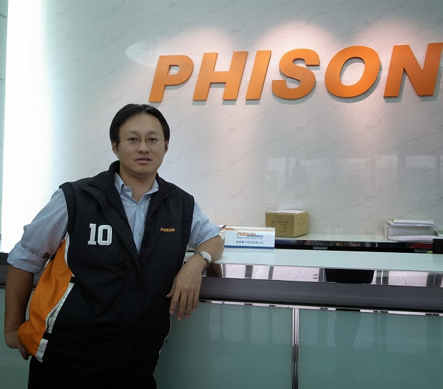 Phua Khein Seng, the founder of Phison and the inventor of the world's first single chip USB flash drive.