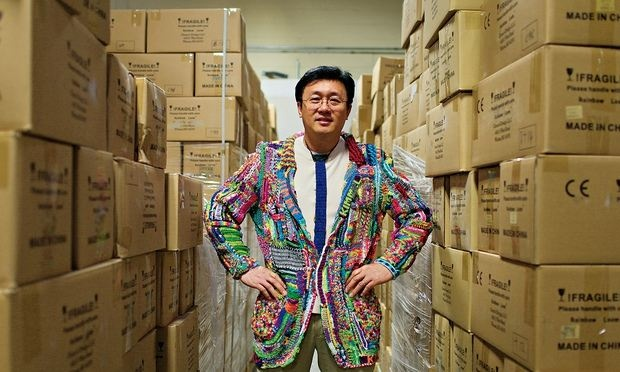 Cheong Choon Ng, a former engineer turned inventor of the loom band.