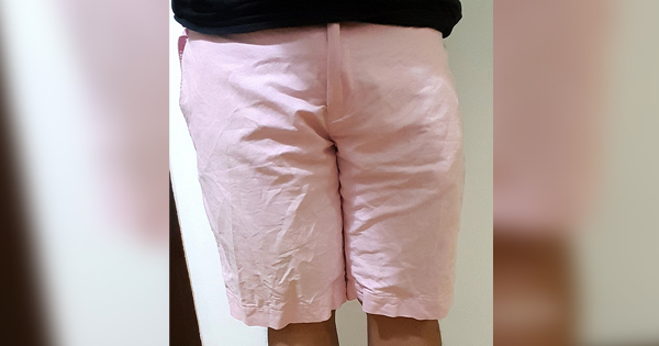 This is the pink shorts the guy wore. exactly the same one.