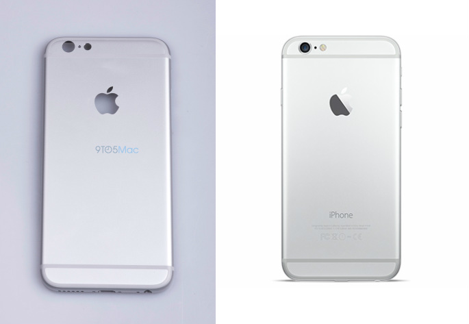 LEFT: iPhone 6S  RIGHT: iPhone 6