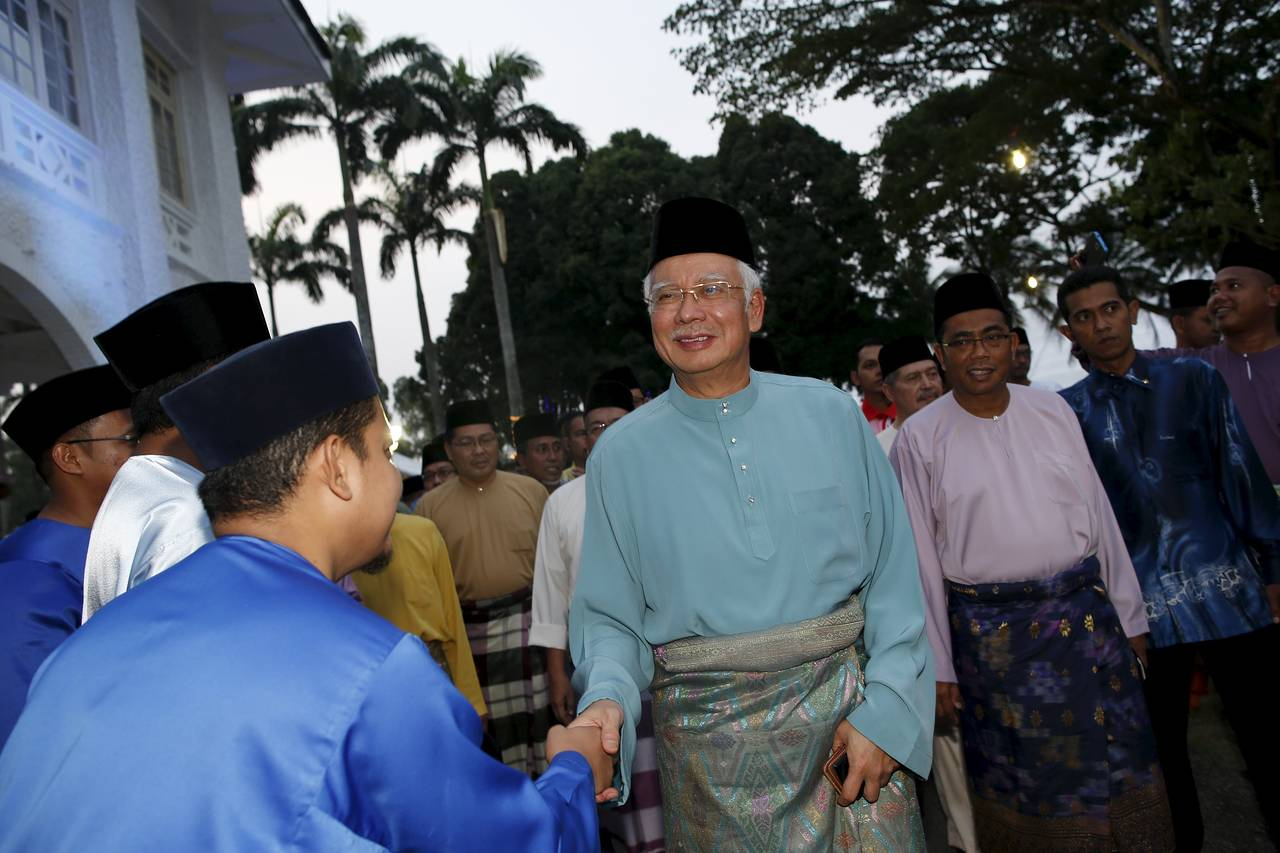 Prime Minister Najib Razak, arriving here at Saujana Menteri Besar the southern state of Johor on Friday, has said the allegations are an attempt by his political adversaries to smear his name.